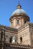 Cathedral of Palermo on Sicily. The Cathedral of Palermo on Sicily. Italy Stock Photos