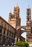 Cathedral of Palermo. Sicily. Italy Stock Photos
