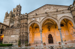 The cathedral of Palermo, Sicily Royalty Free Stock Images