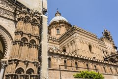 Cathedral of Palermo in Sicily, Italy Stock Photo