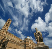 The Cathedral of Palermo, Sicily, southern Italy. The Cathedral of Palermo is an architectural complex in Palermo, Sicily, southern Italy Royalty Free Stock Images
