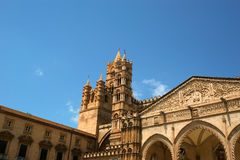 The Cathedral of Palermo, Sicily, southern Italy. The Cathedral of Palermo is an architectural complex in Palermo, Sicily, southern Italy Stock Photos