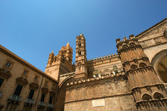 The Cathedral of Palermo, Sicily, southern Italy. The Cathedral of Palermo is an architectural complex in Palermo, Sicily, southern Italy Stock Photo