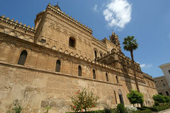 The Cathedral of Palermo, Sicily, southern Italy. The Cathedral of Palermo is an architectural complex in Palermo, Sicily, southern Italy Royalty Free Stock Photo
