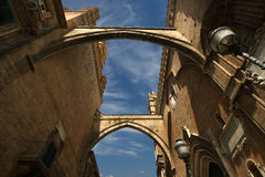 The Cathedral of Palermo,  Sicily, southern Italy Stock Photography
