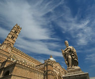 The Cathedral of Palermo,  Sicily, southern Italy. The Cathedral of Palermo is an architectural complex in Palermo, Sicily, southern Italy Stock Photography