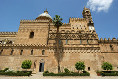 Cathedral of Palermo, Sicily, southern Italy. The Cathedral of Palermo is an architectural complex in Palermo, Sicily, southern Italy Stock Photography