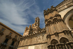 Cathedral of Palermo, Sicily, southern Italy. The Cathedral of Palermo is an architectural complex in Palermo, Sicily, southern Italy Stock Image