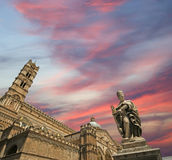 Cathedral of Palermo, Sicily, southern Italy Royalty Free Stock Images
