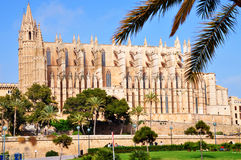 Cathedral of Palma de Majorca Royalty Free Stock Images