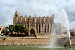 Cathedral of Palma de Majorca Royalty Free Stock Photos
