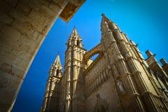 Cathedral of Palma de Majorca. The Cathedral of Palma de Majorca Royalty Free Stock Photo