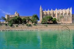 Cathedral at Palma de Majorca Stock Photo