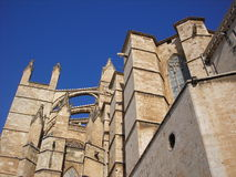 The cathedral of Palma de Majorca Royalty Free Stock Photos