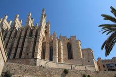 Cathedral in Palma de Majorca. Historic Cathedral in Palma de Majorca Stock Photo