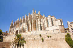 Cathedral of Palma de Majorca, island Majorca, Spain. Cathedral of Palma de Majorca, island Majorca, Spain Stock Photos