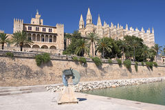 Cathedral of Palma de Majorca Stock Photos