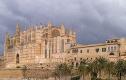 The Cathedral of Palma de Majorca Stock Photography