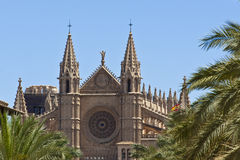 Cathedral Palma de Majorca Stock Photography