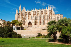Cathedral of Palma de Majorca, Spain Royalty Free Stock Photos