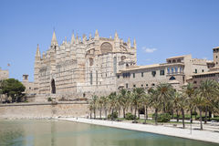 Cathedral of Palma de Majorca. Spain Royalty Free Stock Photo