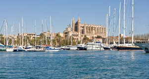Cathedral of Palma de Mallorca Stock Photography