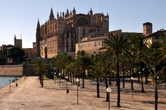 Cathedral of Palma de Mallorca Royalty Free Stock Photos