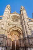 Cathedral of Palma. De Mallorca Royalty Free Stock Photos