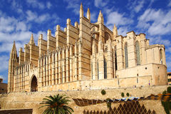 Cathedral. Palma de Mallorca. Balearic Islands in Spain Stock Photos