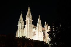 Cathedral of Palma de Mallorca, Balearic Islands, Spain Royalty Free Stock Photos