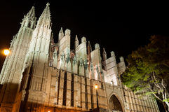 Cathedral of Palma de Mallorca, Balearic Islands, Spain Royalty Free Stock Photo