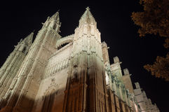 Cathedral of Palma de Mallorca, Balearic Islands, Spain Stock Images