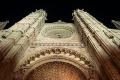 Cathedral of Palma de Mallorca, Balearic Islands, Spain Royalty Free Stock Photography