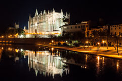 Cathedral of Palma de Mallorca, Balearic Islands, Spain Stock Photography