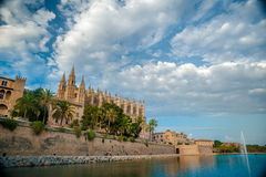 Cathedral of Palma de Mallorca. Stock Images