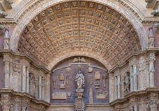 Cathedral of Palma de Mallorca Royalty Free Stock Photography