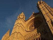 Cathedral of Palma de Mallorca Stock Image