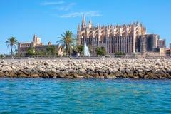 Cathedral of Palma de Mallorca Royalty Free Stock Photography