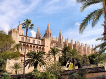 The Cathedral of Palma de Mallorca Royalty Free Stock Photos