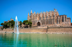 Cathedral of Palma de Mallorca, Spain Royalty Free Stock Photo