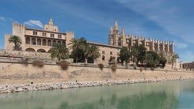 Cathedral in Palma de Mallorca, Spain Stock Photos