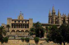 Cathedral in Palma de Mallorca Stock Photos