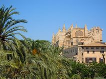 Cathedral of Palma Royalty Free Stock Photography