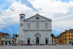 Cathedral, Palmanova, Italy Royalty Free Stock Image