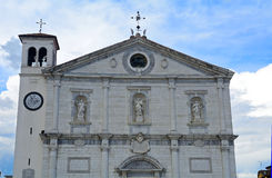 Cathedral, Palmanova, Italy Royalty Free Stock Image