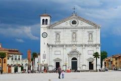 Cathedral, Palmanova, Italy Stock Photography
