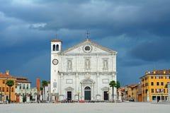 Cathedral, Palmanova, Italy Royalty Free Stock Images