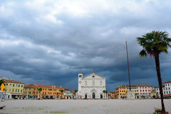 Cathedral, Palmanova, Italy Royalty Free Stock Photo