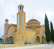 The Cathedral of Paralimni Royalty Free Stock Photos