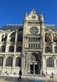 Cathedral in Paris. France Royalty Free Stock Photo